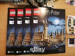 Lego Harry Potter Château De Poudlard. 100% Complet / Bon État