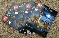 Lego Harry Potter Château De Poudlard (71043) 100% Complet Avec Boîte Et Manuels