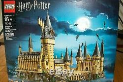 Lego Harry Potter Château De Poudlard (71043) Complet Avec Manuels Et Box