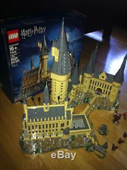Lego Harry Potter Château De Poudlard # 71043 Complete Withbox Manuels Et Minifigs