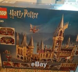 Lego Harry Potter Château De Poudlard Set (71043) 100% Complet, Instruc, Orig. Boîte