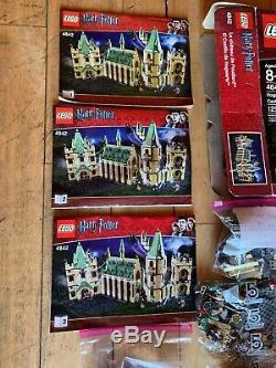 Lego Harry Potter Château De Poudrier À La Retraite 2010 (4842) 99% Terminé