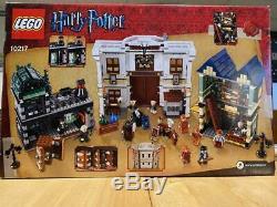 Lego Harry Potter Diagon Alley 100% Complète 10217 Avec Des Instructions Et Boîte