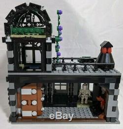 Lego Harry Potter Diagon Alley 100% Complète 10217 Avec Tous Les Chiffres