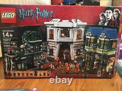 Lego Harry Potter Diagon Alley (10217) 100% Complet Avec Box Pre-owned