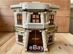 Lego Harry Potter Diagon Alley (10217) 100% Complet Avec Minifigs, Manuel Et Boîte
