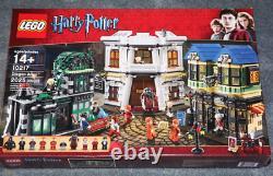 Lego Harry Potter Diagon Alley (10217) 100% Complet. Rare, La Retraite! Navire Rapide