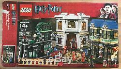 Lego Harry Potter Diagon Alley (10217) 100% Ensemble Complet Avec Boîte Et Instructions