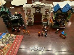 Lego Harry Potter Diagon Alley (10217) 99% Complet Avec Toutes Les Figurines