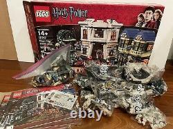 Lego Harry Potter Diagon Alley (10217) Complet Dans La Boîte Avec Des Instructions