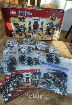 Lego Harry Potter Diagon Alley 10217 Complete 2/3 Sont Dans Sealed Bag's Mint