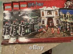 Lego Harry Potter Diagon Alley 10217 Complète Used Avec Les Figures Et Les Instructions