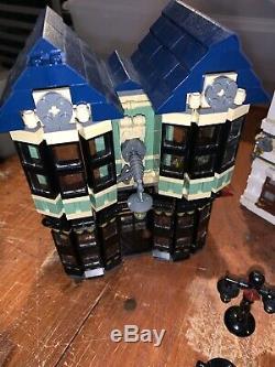 Lego Harry Potter Diagon Alley 10217 Pas De Boîte Ou Des Livres Près Complète