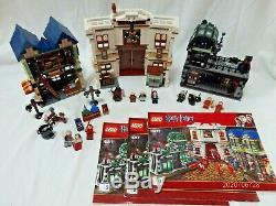 Lego Harry Potter Diagon Alley # 10217 Retraité 100% Complet Aucune Boîte
