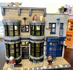 Lego Harry Potter Diagon Alley (75978) Utilisé 100% Parfait Cadeau De Vacances