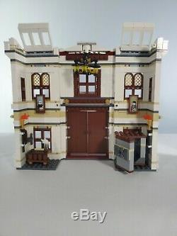 Lego Harry Potter Diagon Alley Mis 10217 Manuels Complet Minifigures Original
