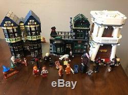 Lego Harry Potter Diagon Alley Set # 10217 Complète De 99%