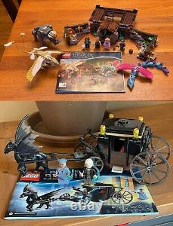 Lego Harry Potter Énorme Lot 16 Ensembles Complets! 100% Complet! 89 Minifigs