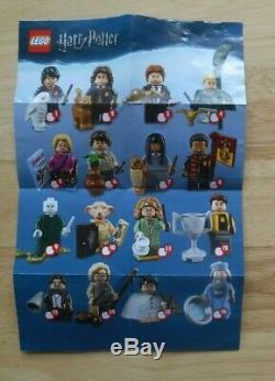 Lego Harry Potter Fantastique Bêtes Minifigures 71022 Plein & Complete Set 22