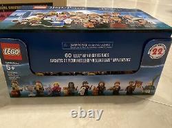 Lego Harry Potter Figurines Série 1 100% Boîte Complète De 60 Figurines