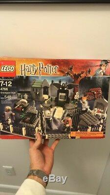Lego Harry Potter Graveyard Duel 4766 100% Complet Avec Boîte Et Instructions