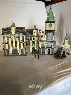 Lego Harry Potter Hogwarts Castle 2001 (4709)100% Complet Constructions Aucune Boîte