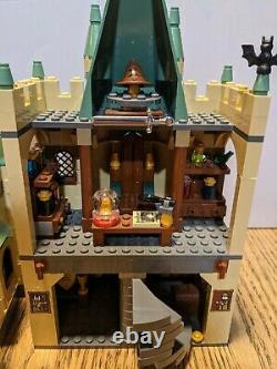 Lego Harry Potter Hogwarts Castle 4842 Complet Avec Minifigures Et Instructions
