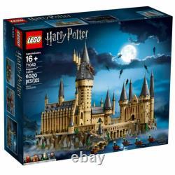 Lego Harry Potter Hogwarts Castle Set (71043). Ensemble Complet Avec Boîte Et Manuels