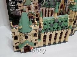 Lego Harry Potter Hogwarts Château 4842 Complet Avecmanuels, Boîte Et Figures