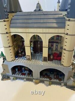 Lego Harry Potter Hogwarts Château (71043) 100% Complet Avec Boîte