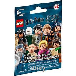 Lego Harry Potter Minifigures Série 1 Complet (22 Chiffres) Nouveau Et Scellé