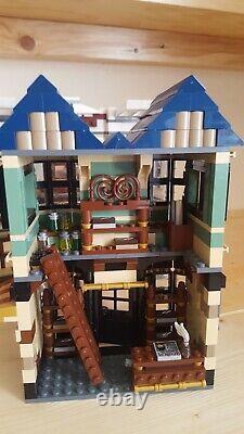 Lego Harry Potter Set 10217 Diagon Alley. Complète Avec La Boîte Et Les Instructions