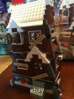 Lego Harry Potter Shrieking Shack (4756) 100% Complet Et Ouvert, En Orig. Boîte