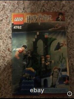 Lego Harry Potter4762 Rescue From The Merpeople Complet Avec Des Instructions