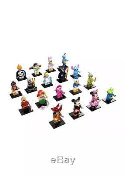 Lego Minifigures (71012) Disney Série 1 Jeu Complet De 18 Figures Sealed