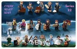 Lego Minifigures Série Harry Potter 22 / Bêtes 71022 Jeu Complet De 22 Scellé