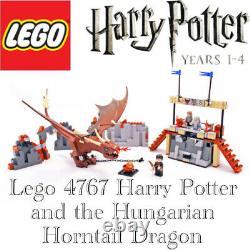 Lego Set 4767 Harry Potter Et Le Hongrois Horntail Complete Avec Instructions