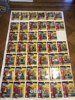 Les Figurines D'action Des Simpsons Sont Complètes, Sauf Les Séries Mib Des Séries 4, 5 Et 12 Voir Le Bonus