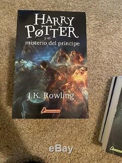 Livres De Harry Potter Ensemble Complet Espagnol