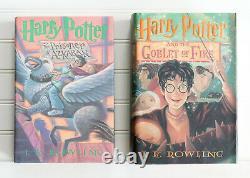 Lot De 12 (#1-7 Plus) Harry Potter Série Complète Ensemble Hardcover Livres Aveccursed