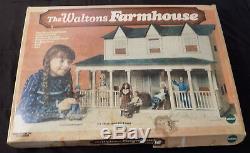 Mego 1975 Vintage L'ensemble De Ferme Waltons Farmhouse Complet Jamais Assemblé