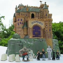 Mini Polly Pocket Harry Potter Poudlard Schloss 100% Complète Sound Warner Bros