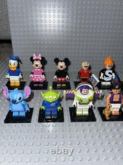 Minifigures Lego Série De Disney 1 (complete Set) Rare