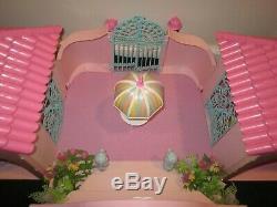 Mon Petit Poney Mlp G1 Paradise Estate Et Accessoires Et Box Vtg 1986 Complet À 95%
