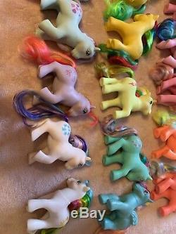My Little Pony Mlp G1 Ensemble Complet Twinkle Eye Ponies Excellent Lot De 15 MIMIC