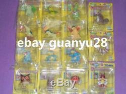 N1 U4 Tomy Pokemon 2ème Gén Figurine (set Complet) Zk Ot