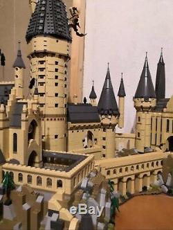 New Castle Personnalisé Harry Potter Poudlard 71043 + Instruction + Set Complet