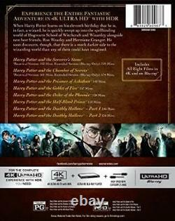 New Harry Potter Complete 1-8 Film Collection (4k Uhd/blu-ray, 2017 16-disc Set)