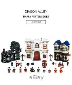 Nouveau 100% Complet Harry Potter Construction De Brique Jouet Brique Set 10217 Jouets Nr