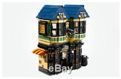 Nouveau 100% Complet Harry Potter Diagon Alley Jeu De Construction En Briques Set 10217 Jouets Nr